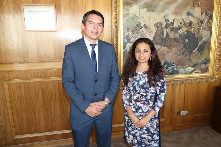 Intendenta recibió a nuevo director regional de Servicio de Evaluación Ambiental