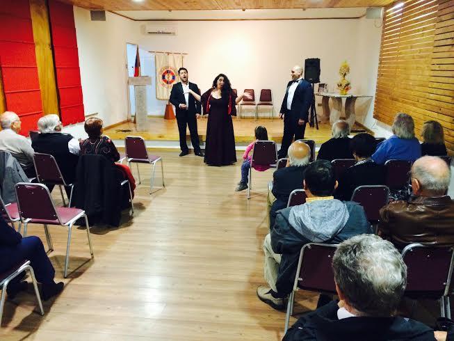 Velada Lírica encantó a los médicos, con destacadas arias de opera