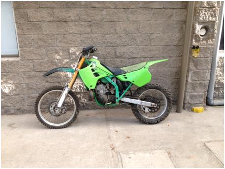 PDI recupera moto robada que estaba en un taller en pleno centro de Rancagua