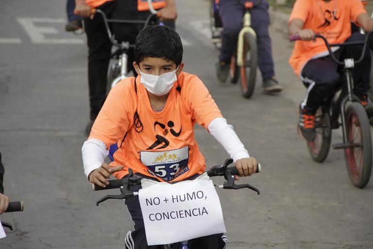 """Cicletada """"No más Humo"""""""