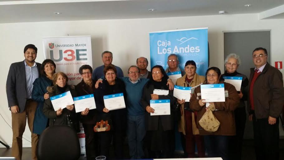 Caja Los Andes apoya el emprendimiento en adultos mayores