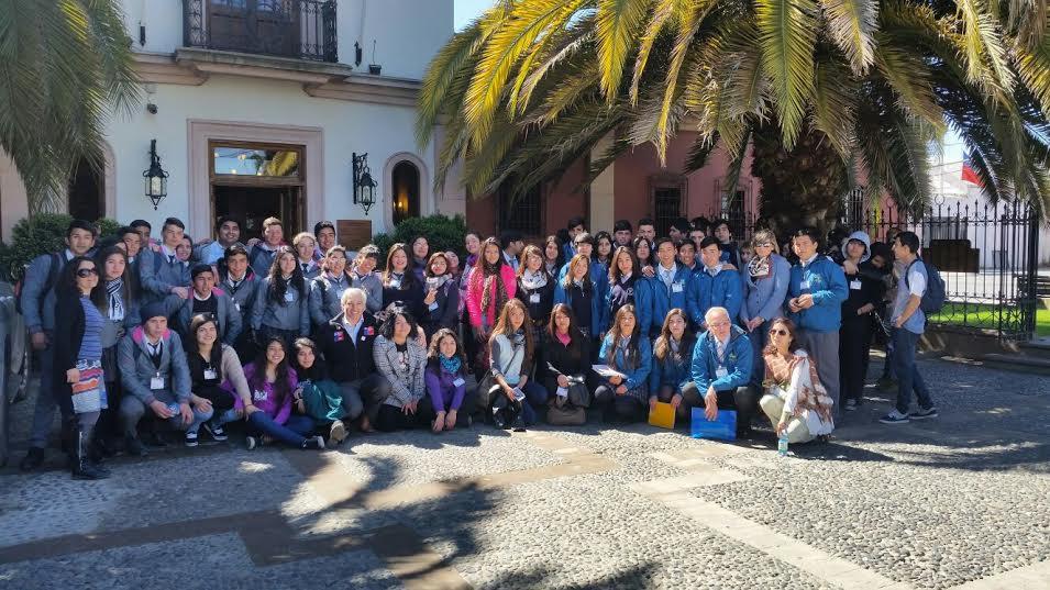 Estudiantes de turismo visitan museos de Colchagua
