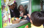 Alianza público-privada permite mejorar hábitos alimenticios en cuatro colegios de Rancagua