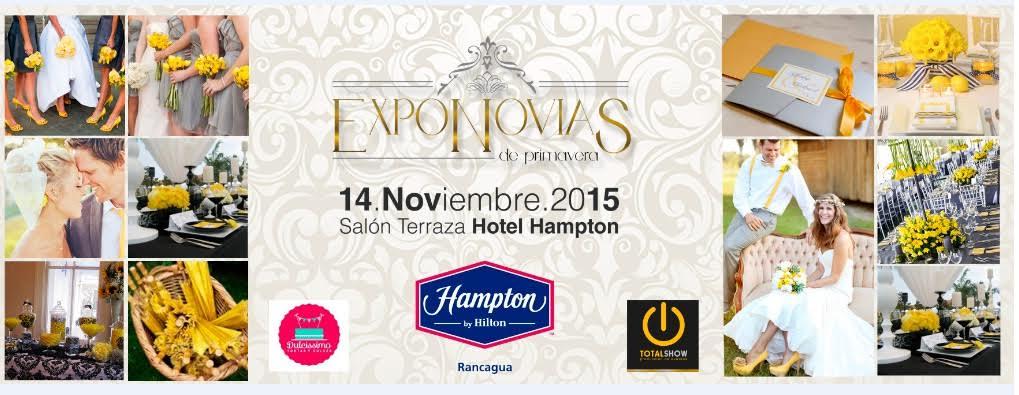 "Hotel Hampton by Hilton Rancagua recibe ""Expo Novias de Primavera 2015"""