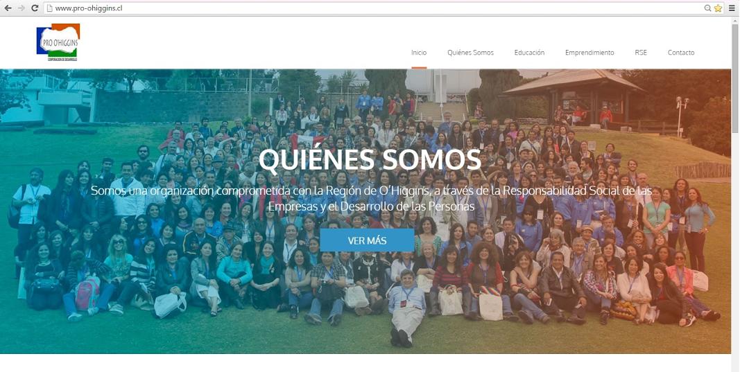 Pro O'Higgins presenta su nuevo Sitio Web