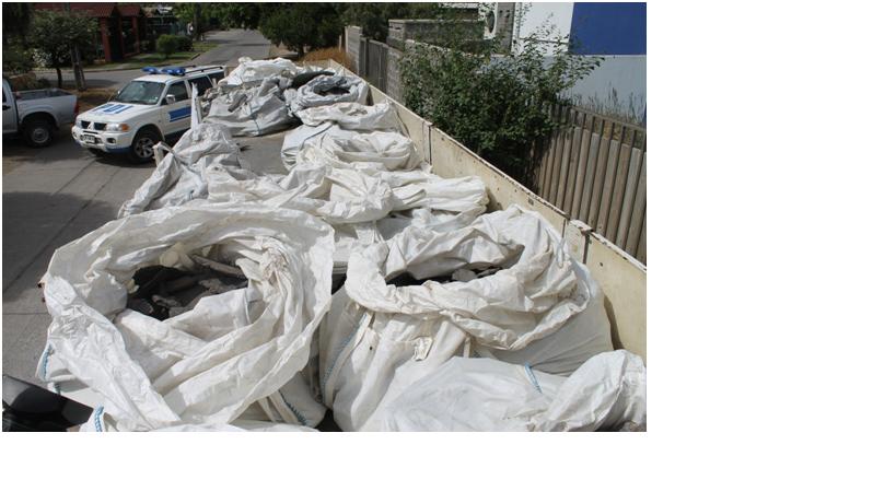 Incautan 12 toneladas de cobre de Chuquicamata en Rancagua