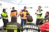 "Realizan Primer Seminario de ""Rescate Tècnico Pesado"" Organizado por Bomberos de Rancagua"