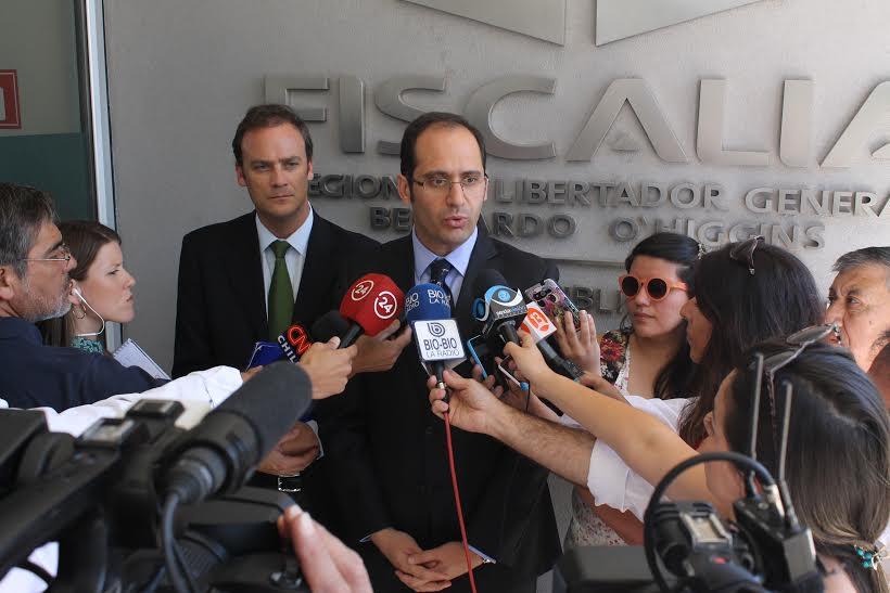 """Caval: Diputados UDI se reúnen con fiscal Toledo y piden que la investigación se mantenga """"en su totalidad"""" en Rancagua"""