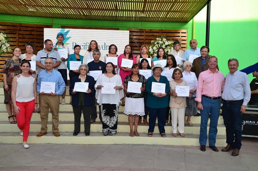 Pacific Hydro distingue a vecinos del Alto Cachapoal por iniciativas comunitarias