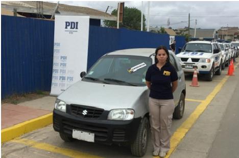Roban vehículo y se van de vacaciones a Pichilemu