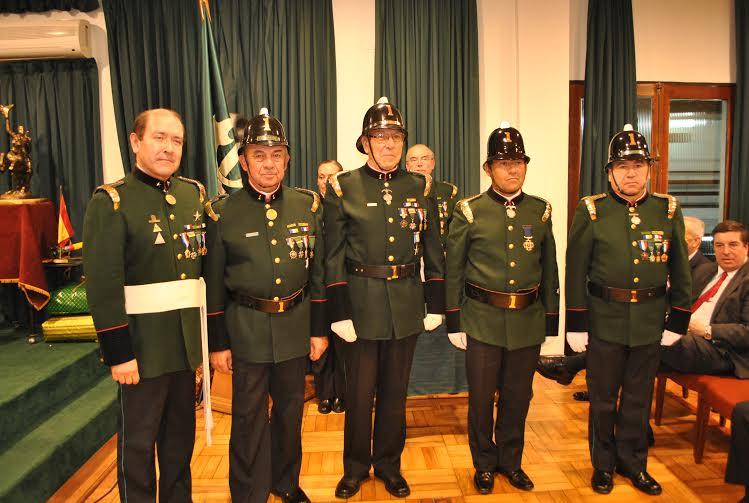 Cuerpo de Bomberos de Rancagua celebraron 134 años de historia y tradiciones