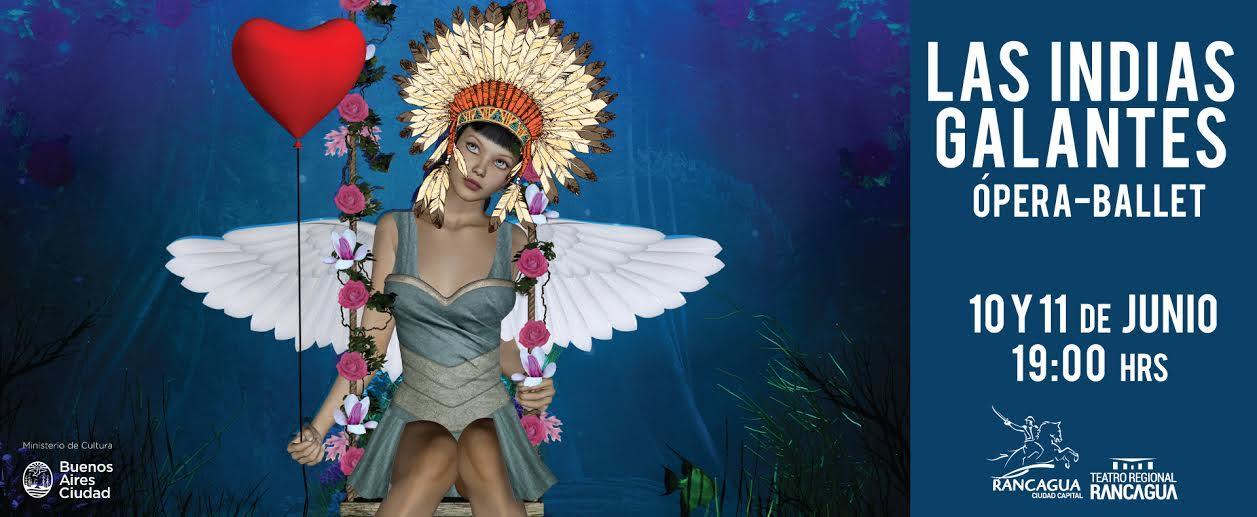 La Indias Galantes, un estreno latinoamericano para toda la familia llega a Rancagua