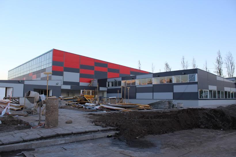 Rancagua: A paso firme avanza construcción del polideportivo más grande de la región de O'Higgins