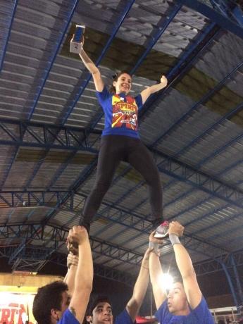 """Cheerleaders rancagüinos obtuvieron primer lugar en torneo """"SpiritChampionship"""""""