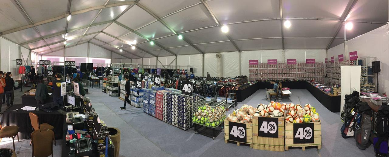 Venta de Bodega en tienda Sparta ofrece  hasta un 70% de descuento en productos deportivos