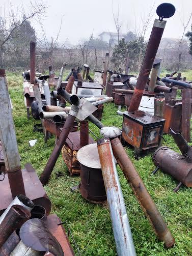 Seremi del Medio Ambiente de O'Higgins lideró proceso de chatarrización de 409 calefactores a leña