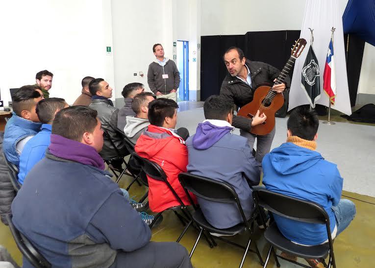 La Primera Orquesta Penitenciaria del país inició proceso de sensibilización musical y selección de los participantes