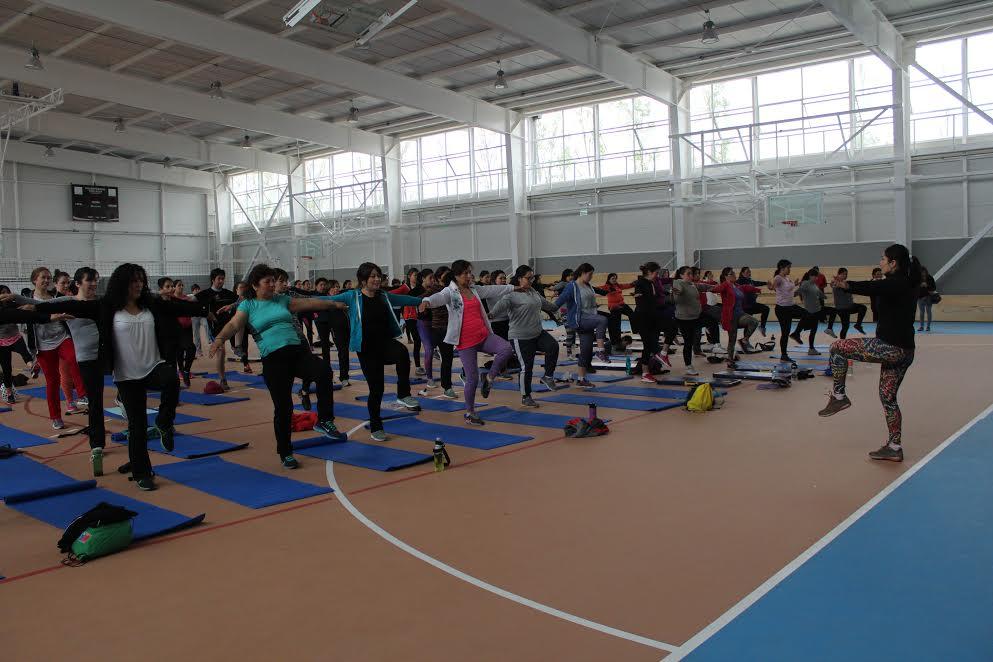 Con total éxito debuta el moderno polideportivo de Rancagua