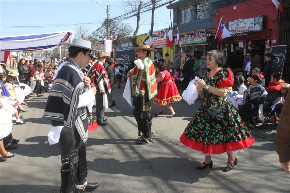 Rancagua comenzó los festejos de Fiestas Patrias
