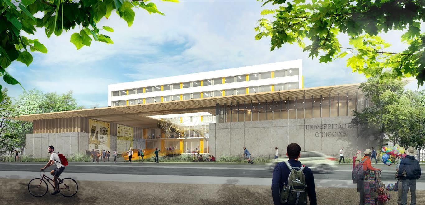 Universidad de O'Higgins comenzó obras en recinto del ex Hospital Regional