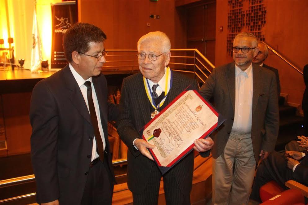 Con la entrega de la Medalla Fundación de Rancagua se celebró un nuevo aniversario de la ciudad