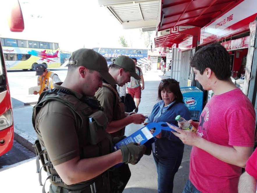 En Terminal O'Higgins: Autoridades hacen un llamado a denunciar los delitos