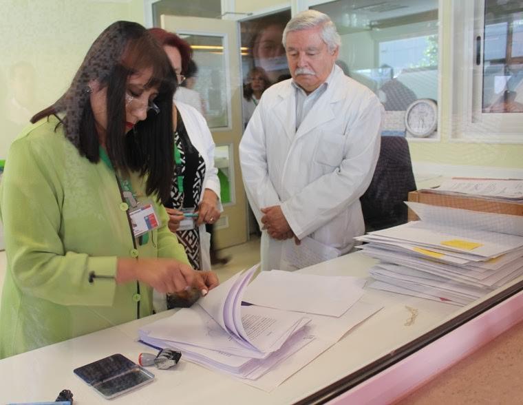Médicos de Rancagua presentaron sus renuncias por la mala gestión del Director del Servicio Salud