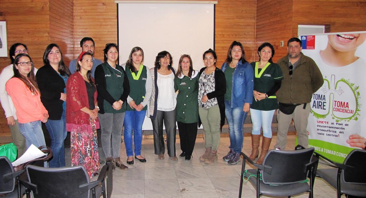 Educadoras de JUNJI e Integra participaron en seminario ambiental