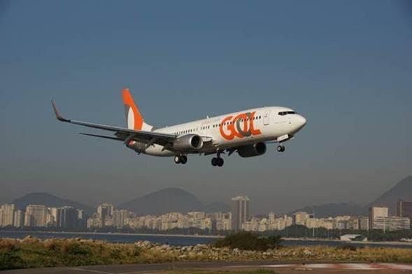 GOL fue elegida como la aerolínea más puntual de Brasil en 2016