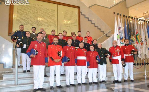 Bomberos de la Región fueron homenajeados en la Cámara de Diputados tras su actuar en los Incendios Forestales