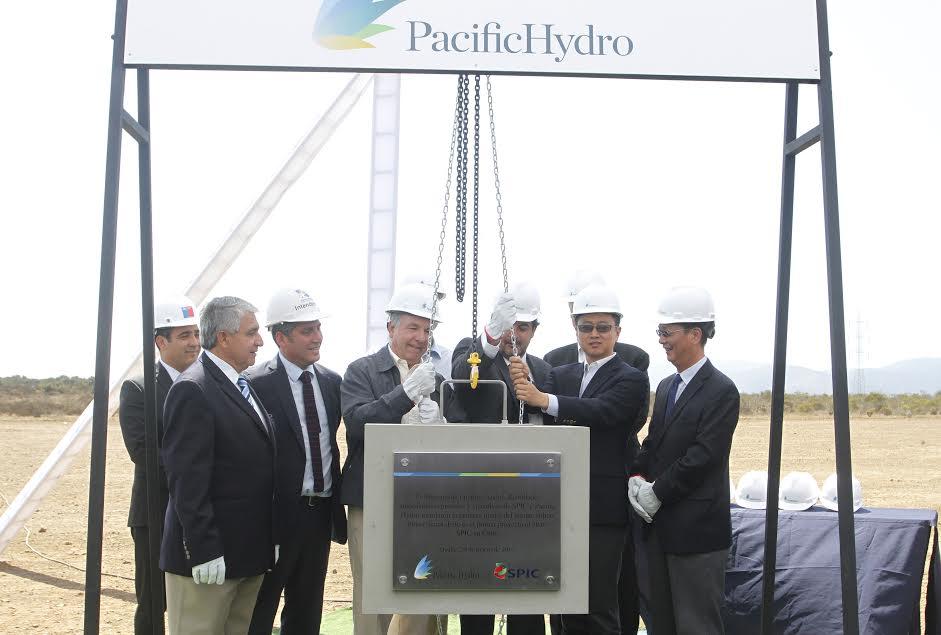Pacific Hydro inicia construcción de parque eólico Punta Sierra