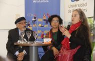 Escritores chilenos Pía Barros y Floridor Pérez llegaron a Rancagua para celebrar el Día del Libro
