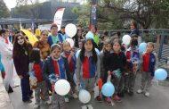 Niños y niñas celebraron el Día del Libro con estudiantes de Pedagogía de la Universidad de O'Higgins