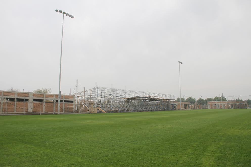 Rancagua: Construcción de estadio Lourdes avanza conforme a los plazos estipulados