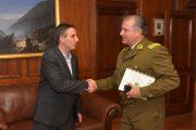 Municipio oficializa ofrecimiento de terreno para nueva unidad de Carabineros en Rancagua