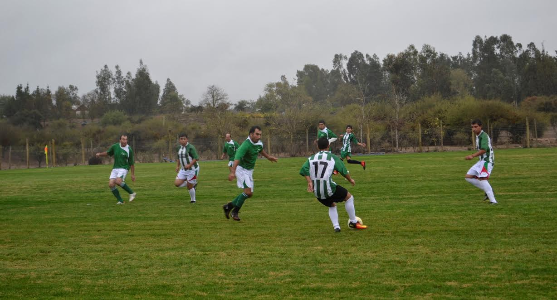 Club Deportivo Viña Guadalao inaugura cancha de fútbol empastada