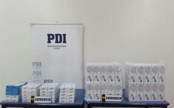PDI Detiene a mujer por contrabando de cigarrillos