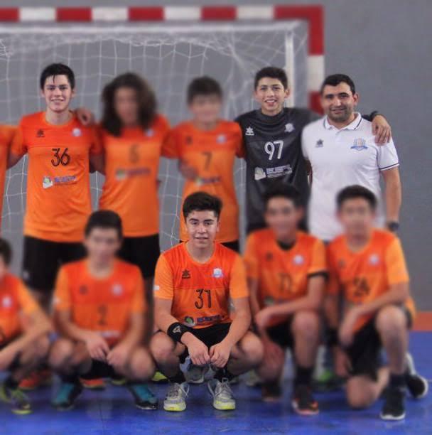 Machalí se apodera del balonmano: Tres nuevos seleccionados chilenos