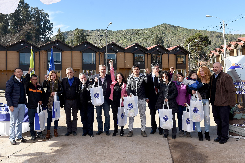 Conavicoop entrega 56 casas de su proyecto DS116 de Machalí
