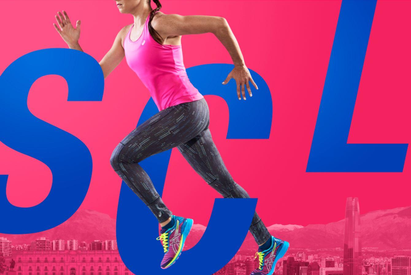 ASICS inicia operaciones en Chile y trae Maratón Golden Run para septiembre