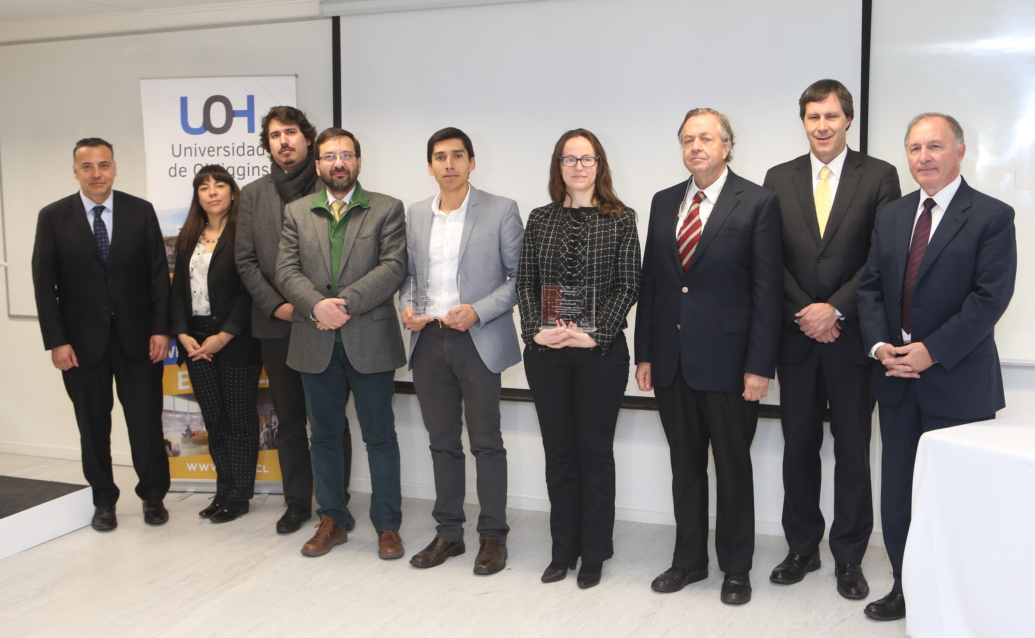 Docentes de la Universidad de O'Higgins recibieron importante beca para realizar investigaciones en el extranjero