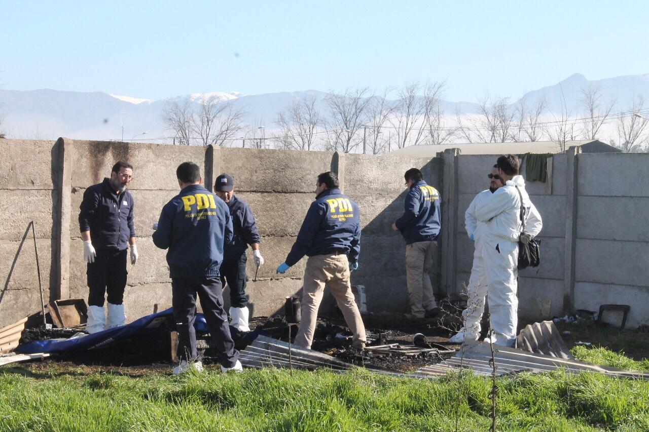 Hombre falleció en incendio que consumió su casa en Rancagua