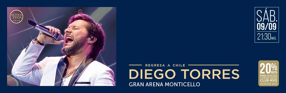 Gran Arena Monticello será inaugurada con alfombra roja y show de Diego Torres