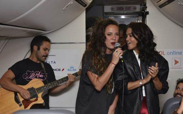 Música en el aire: Avión de GOL se transforma en el escenario del primer show en vivo en pleno vuelo como previa de Rock in Río