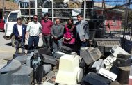 """Más de 7 toneladas de residuos electrónicos fueron recolectados en el """"Día Verde"""" en Doñihue"""