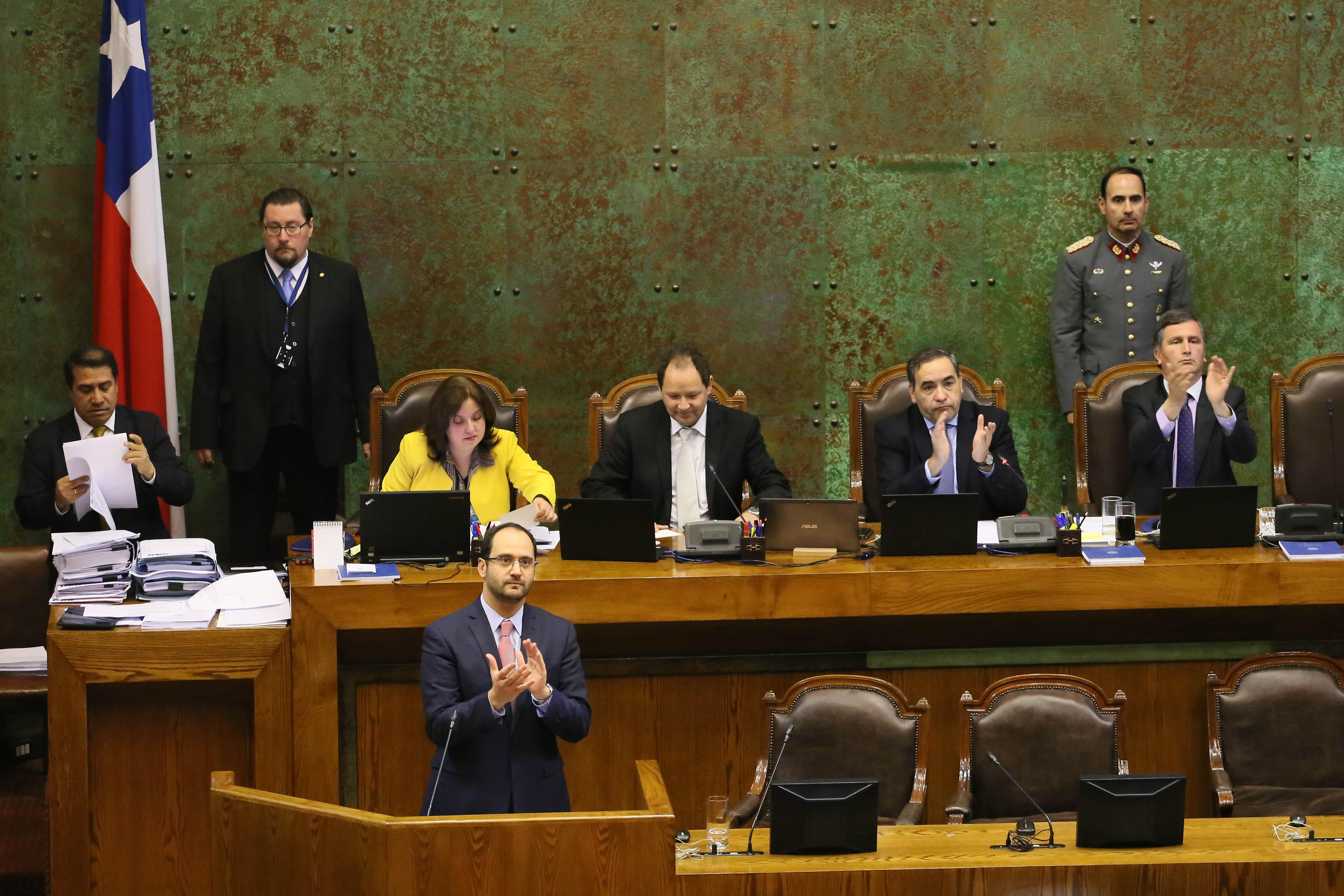 Diputado Kort homenajea en la Cámara de Diputados a la ciudad de Rancagua en su 274° aniversario