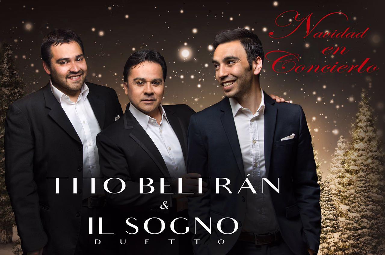 Tito Beltrán & IL Sogno darán concierto de navidad en Sun Monticello