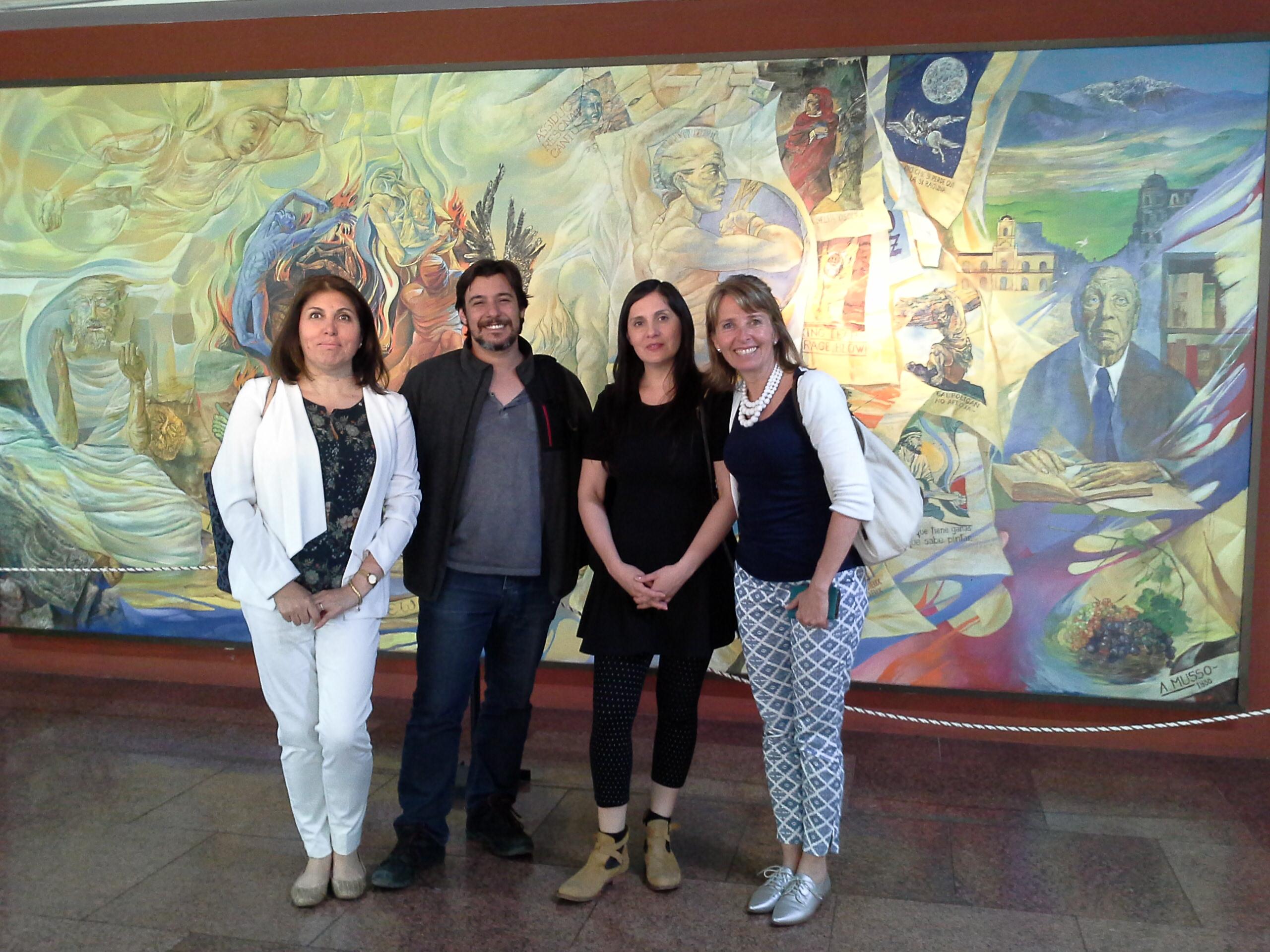 Académicas de Educación UOH intercambiaron conocimientos sobre Humanidades y Ciencias Sociales en Argentina