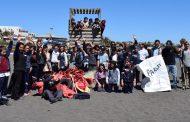 Estudiantes recolectaron más de 300 kilos de basura en las playas Pichilemu