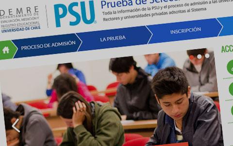 En la Región de O'Higgins 14.579 jóvenes rinden la PSU